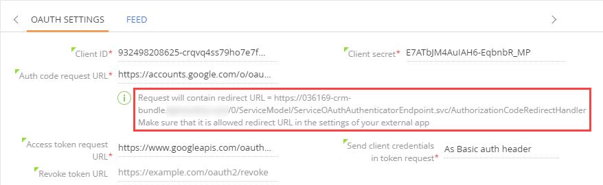 Setting up an OAuth 2 0 application | bpm'online academy