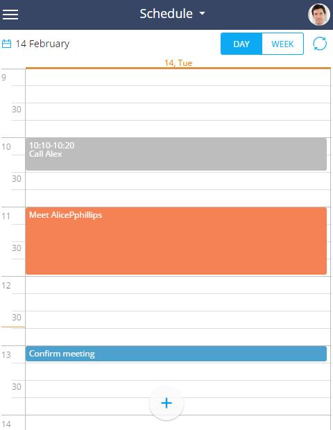 work with the calendar bpm online academy